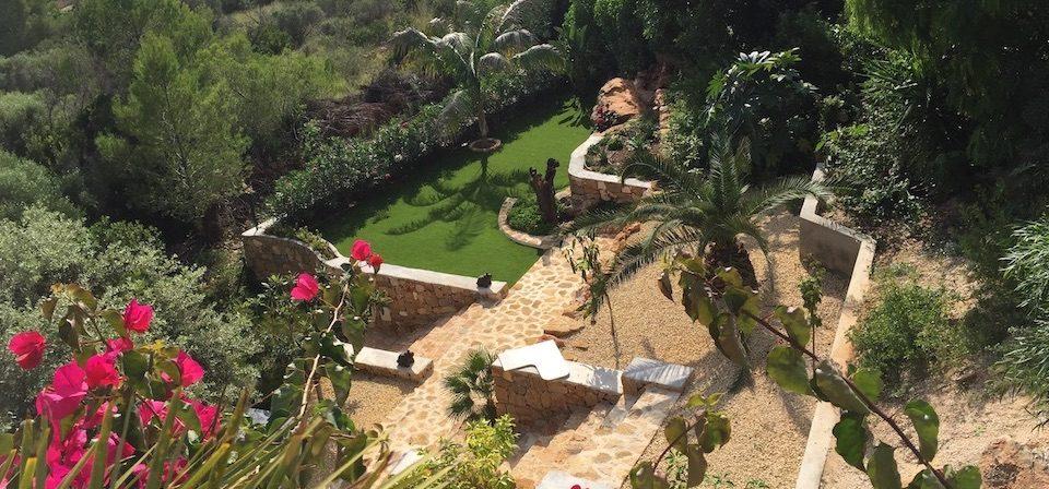 garden overlooking